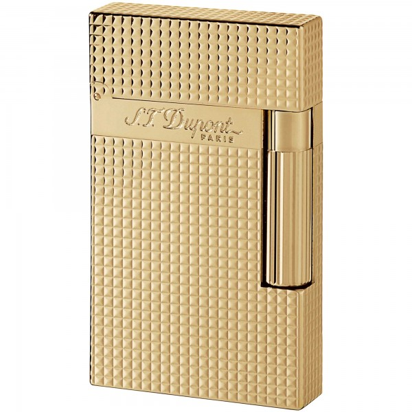 S.T. Dupont Ligne 2 Diamond Heads Yellow Gold