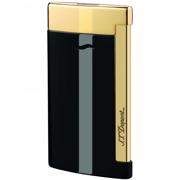 S.T. Dupont Slim 7 Black Lacquer & Golden Finishes