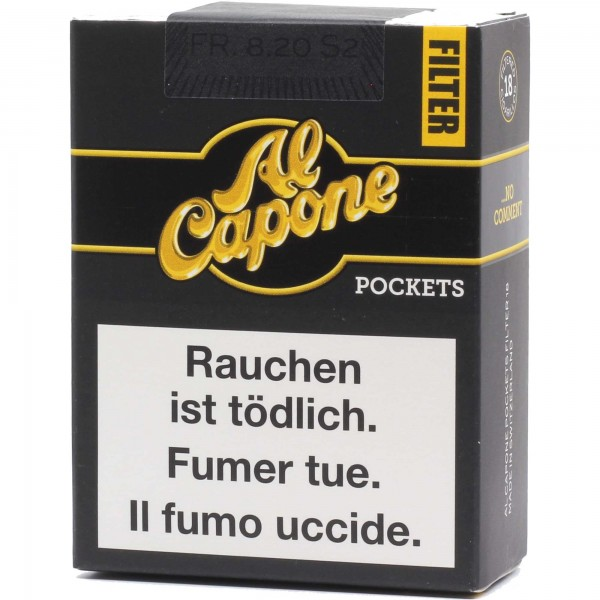 Al Capone Pockets Filter 18er Pack