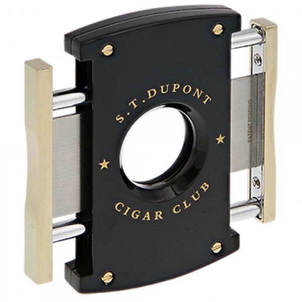 S.T. Dupont Cutter Cigar Club Black & Yellow Gold (003512)