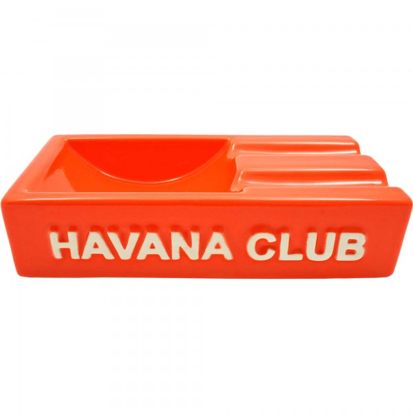 Club Havana Secundo Orange Aschenbecher