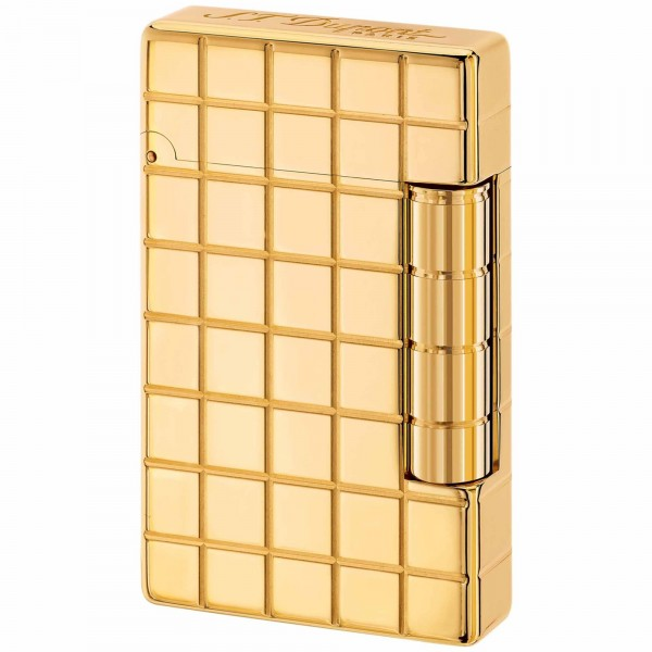 S.T. Dupont Initial Golden Bronze Square (020801B)