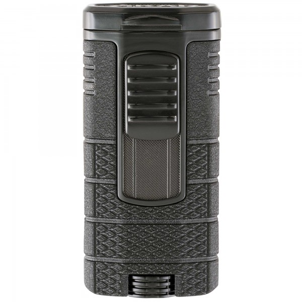 Xikar Tactical Triple Jet Black- Black 553BK