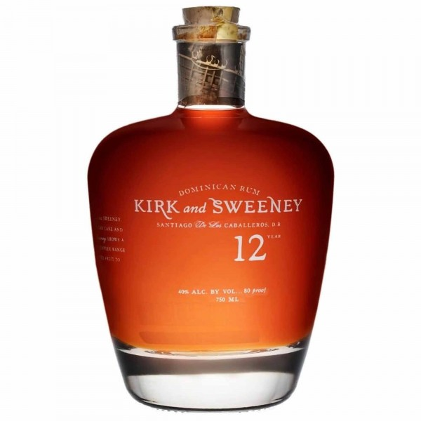 Kirk and Sweeney Dominican Rum 12 Years 75cl