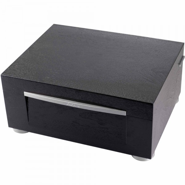 Xikar Humidor High Performance Schwarz mit LED-Leiste