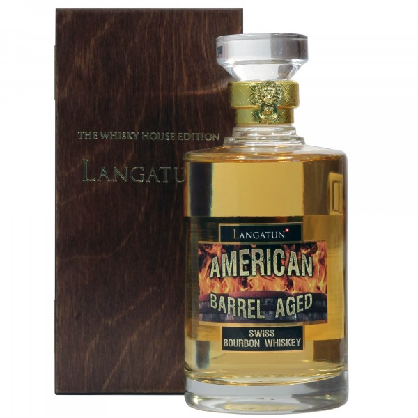 Langatun American Barrel Aged Bourbon Whisky 50cl