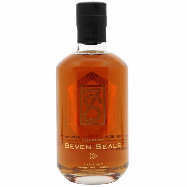 Seven Seals Sherry Wood Finish Cask Proof 50cl