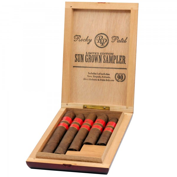 Rocky Patel Zigarren Sun Grown 5er Sampler