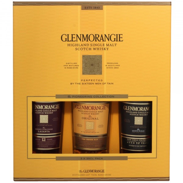 Glenmorangie Pioneering Whisky Collection 3x35cl