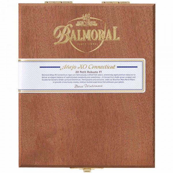 Balmoral Añejo XO Connecticut Petit Robusto FT