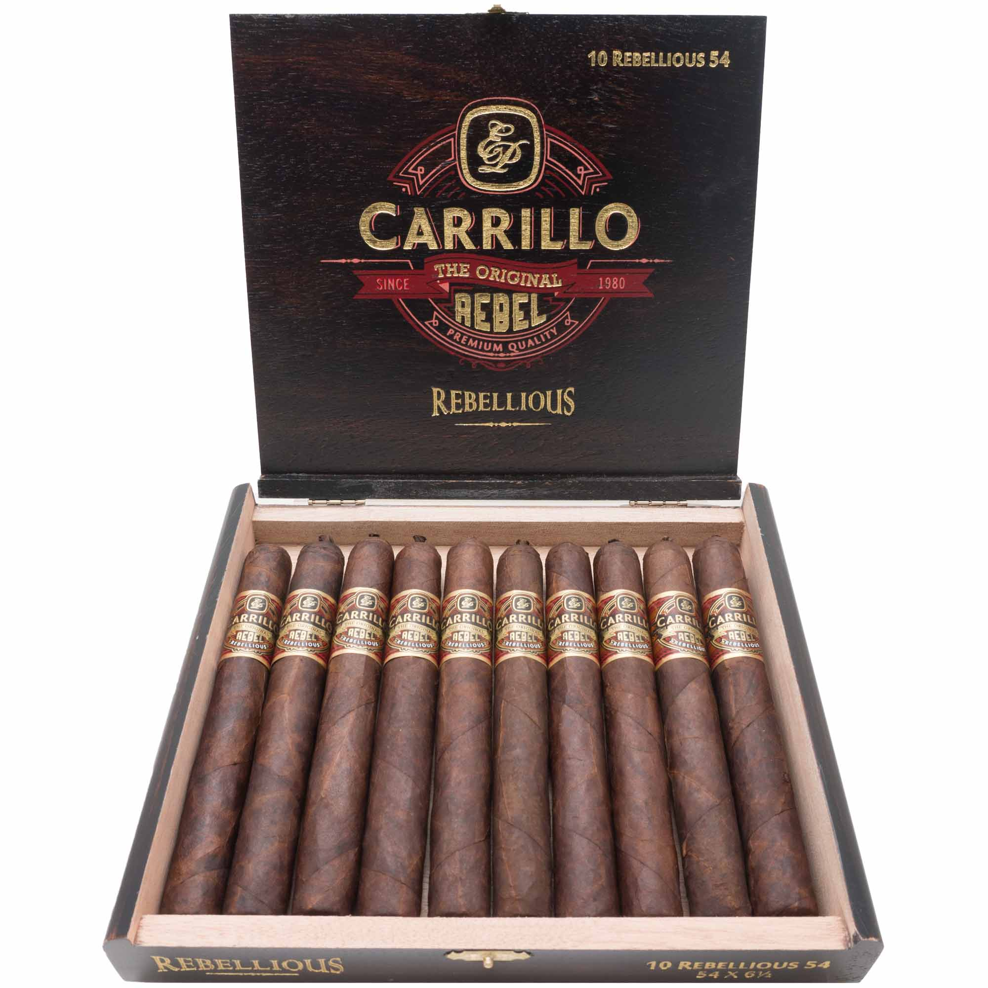 E.P. Carrillo Rebel Rebellious 54 - 10er Kistchen
