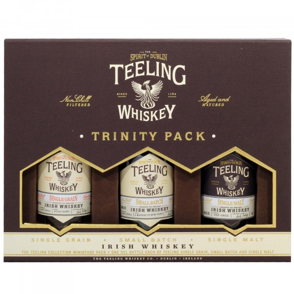 Teeling Whisky Trinity Pack (3x5cl)