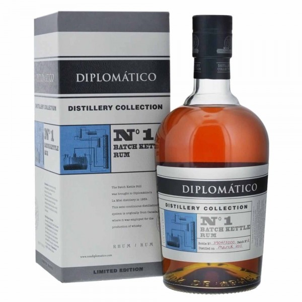 Diplomatico Distillery Collection No 1 Batch Kettle 70cl