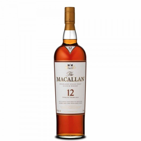 Macallan Sherry Oak 12yr Whisky 70cl