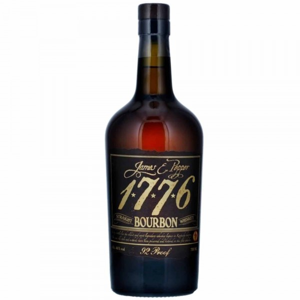 1776 J.E. Pepper Straight Bourbon Whiskey 92 Proof 70cl