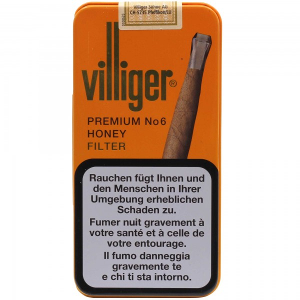 Villiger Premium No 6 Honey Filter