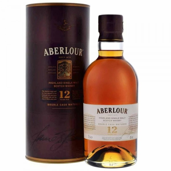 Aberlour 12 Years Double Cask Single Malt Whisky 70cl